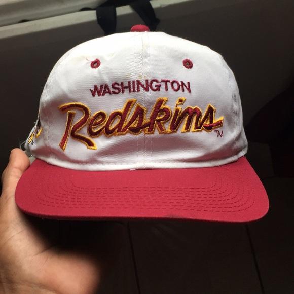 3e160d58c56bd Sports Specialties Washington Redskins Hat. M 5b5a3e9cc61777ffb2c1d5bb